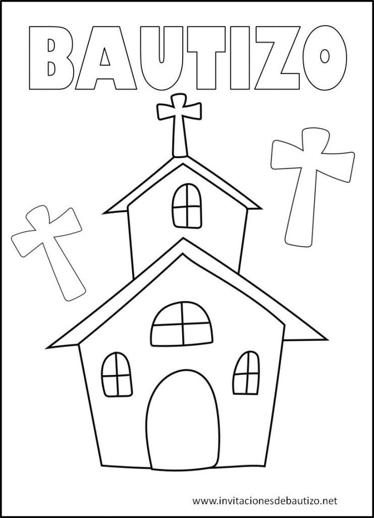 Imágenes De Bautizo para pintar